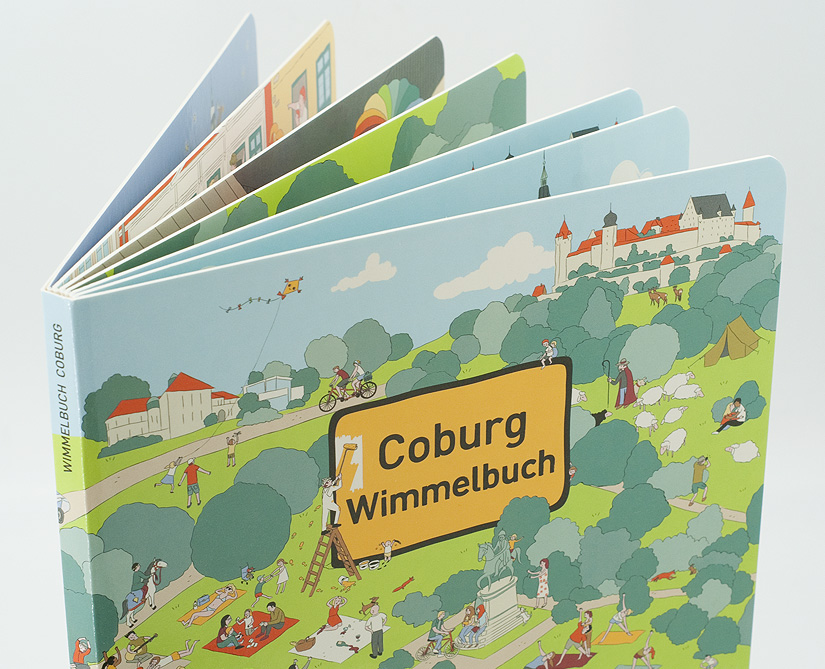 Coburger Wimmelbuch Cover