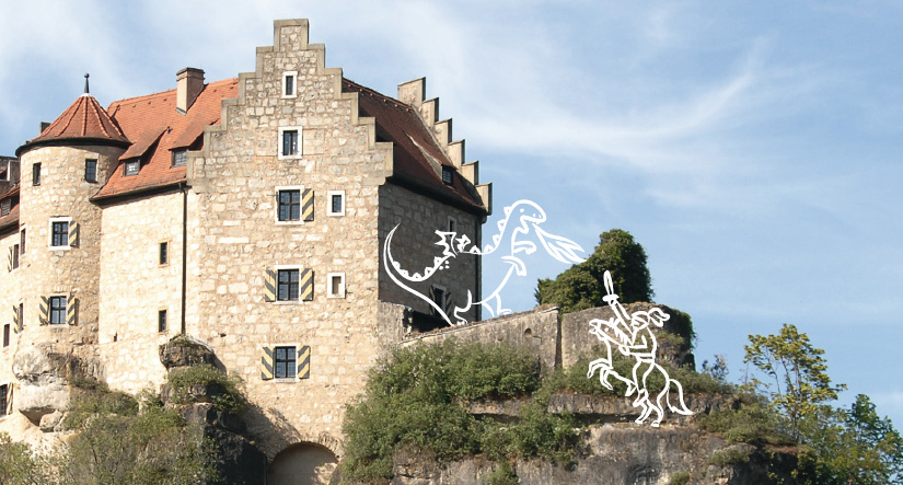 familienbroschuere-obermain-jura-illustration-drachenkampf